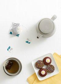 herbata i ciasteczka
